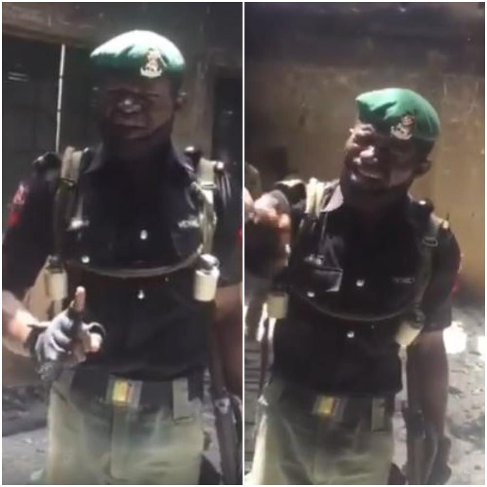Nigerian police laments bitterly