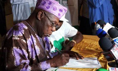 Obasanjo Writes Open Letter To President Buhari [Read Complete Letter]