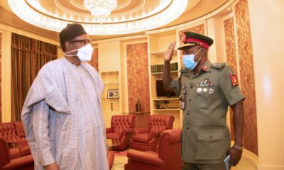 Buhari Offers Tips To New Army On How To End Insecurity
