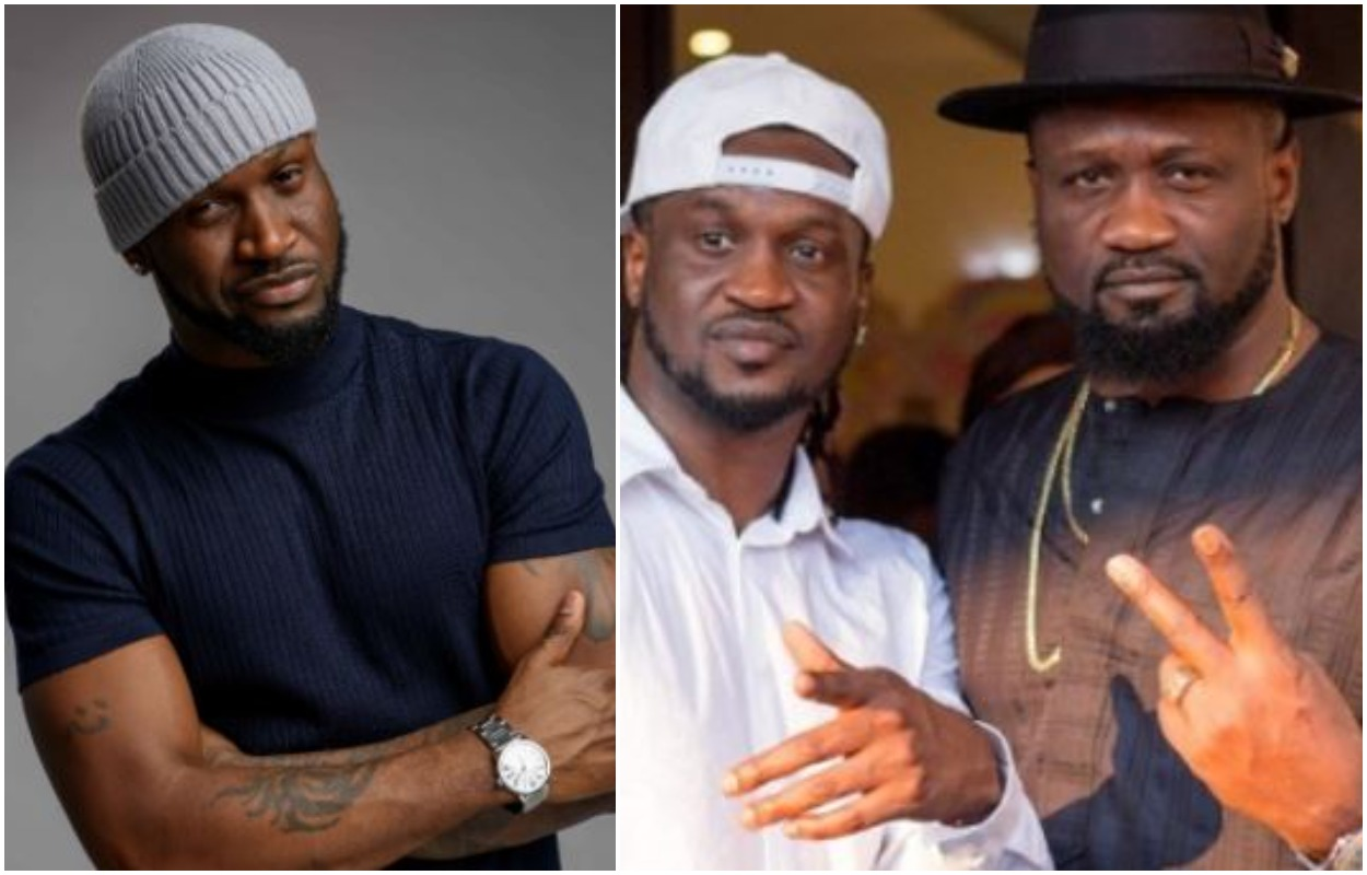 Peter Okoye Fire Shots At His Brothers, Paul And Jude