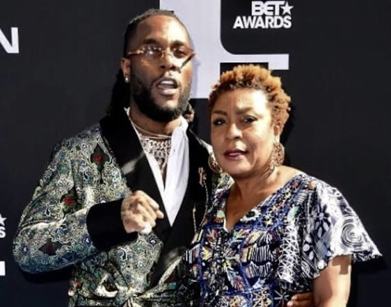 Burna Boy Makes History, Wins Best International Act Thrice In A Row