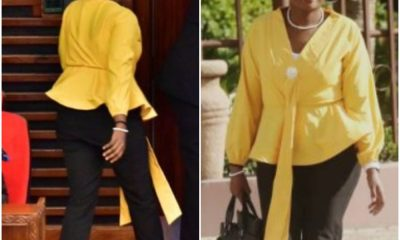 Female Politician Thrown Out From Parliament For Wearing Tight Trousers |Photos