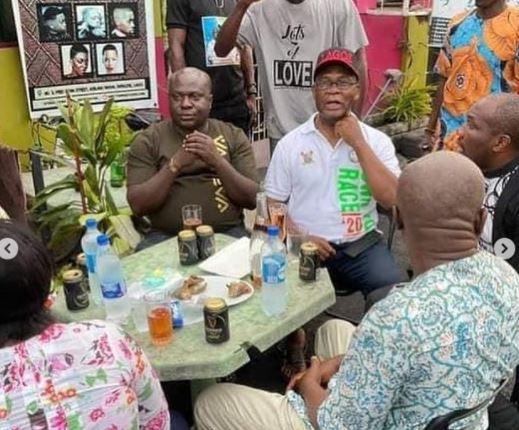 Nigerians React To Photos Of Joe Igbokwe Celebrating With His Boys After Sunday Igboho's Arrest