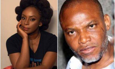 Chimamanda Adichie Opens Up On Defending Nnamdi Kanu