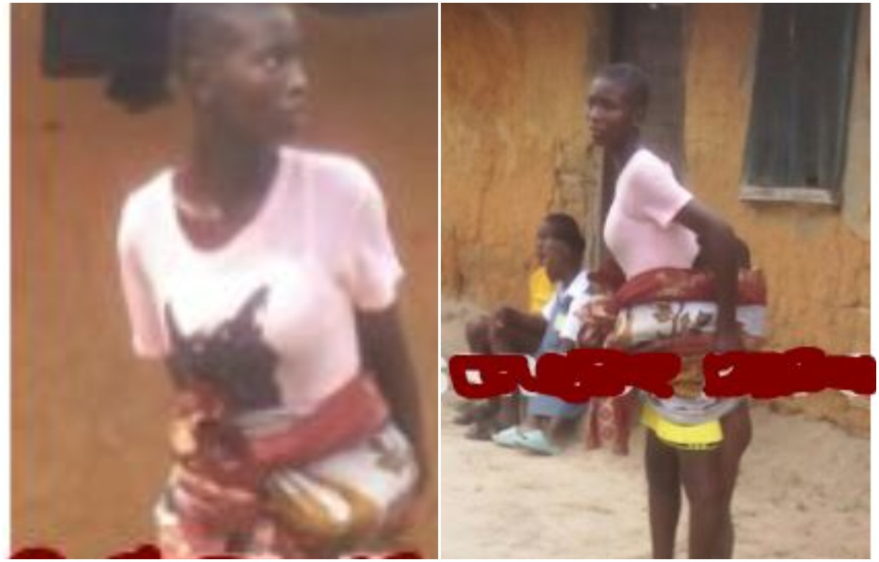 Girl Force To Carry Dead Child