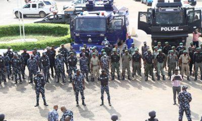 Yoruba Nation Rally: Security Operatives Takes Over Gani Fawehinmi Park in Lagos