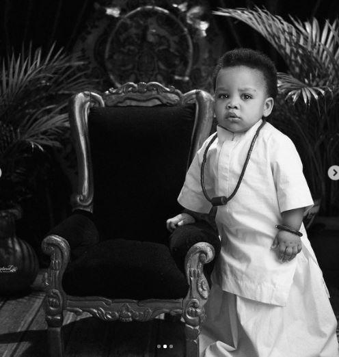 Linda Ejiofor's son Keon