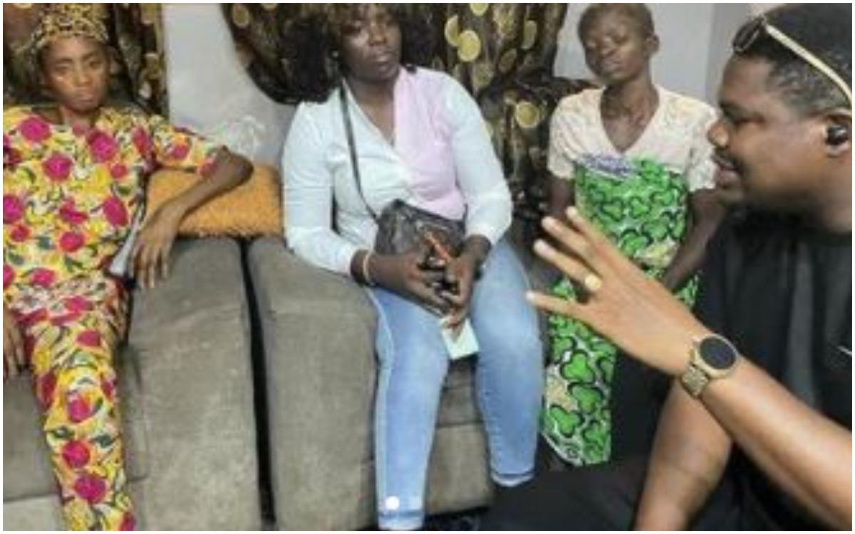 Macaroni Visits And Donates Money To Family of girl killed during yoruba rally