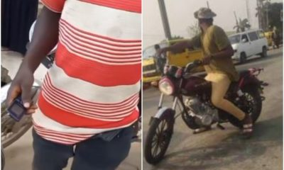 Motorcyclist Cries Out After Passenger He Carried Stole His Manhood In Lagos