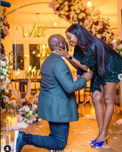 Nollywood actress is engaged