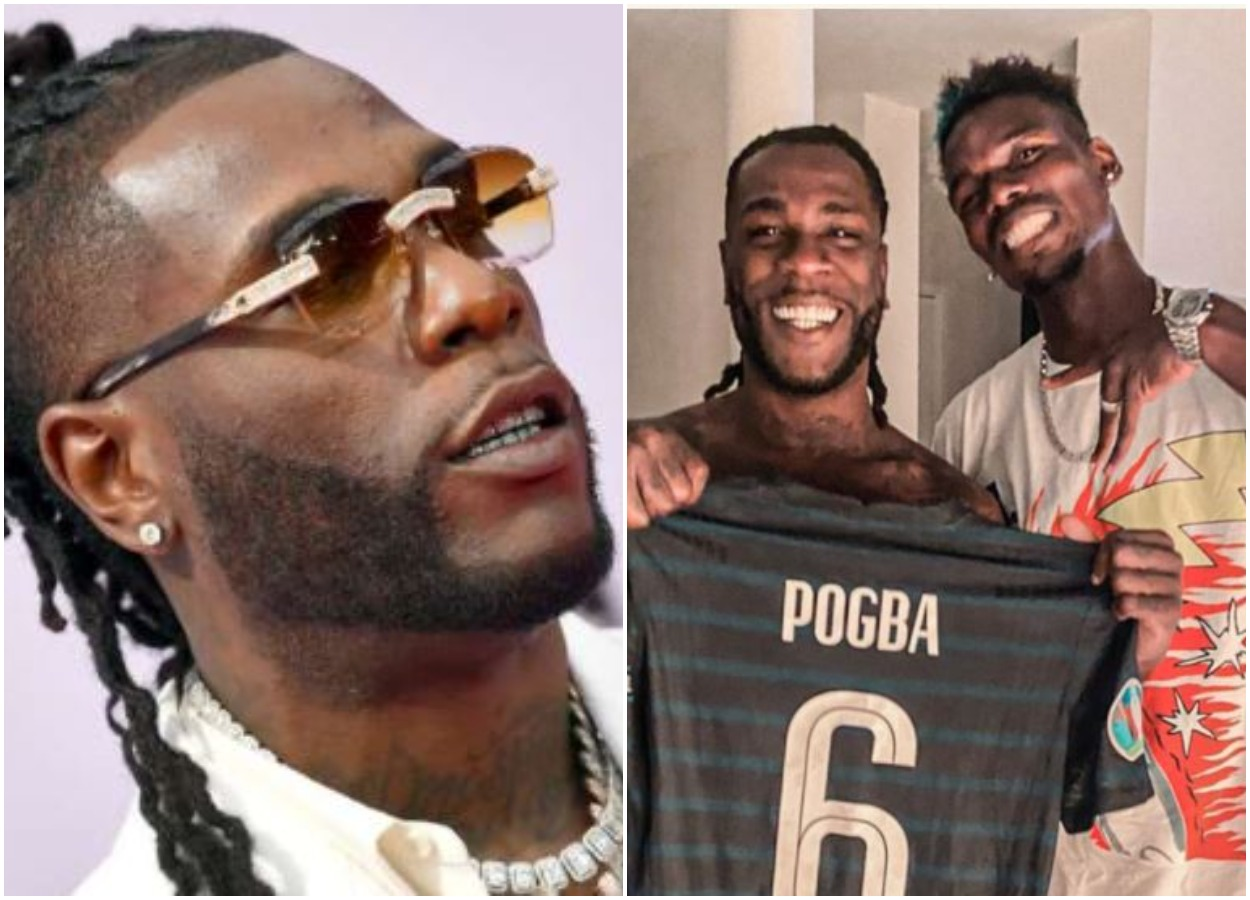Paul Pogba Party Hard With Burna Boy At His Surprise Birthday Dinne