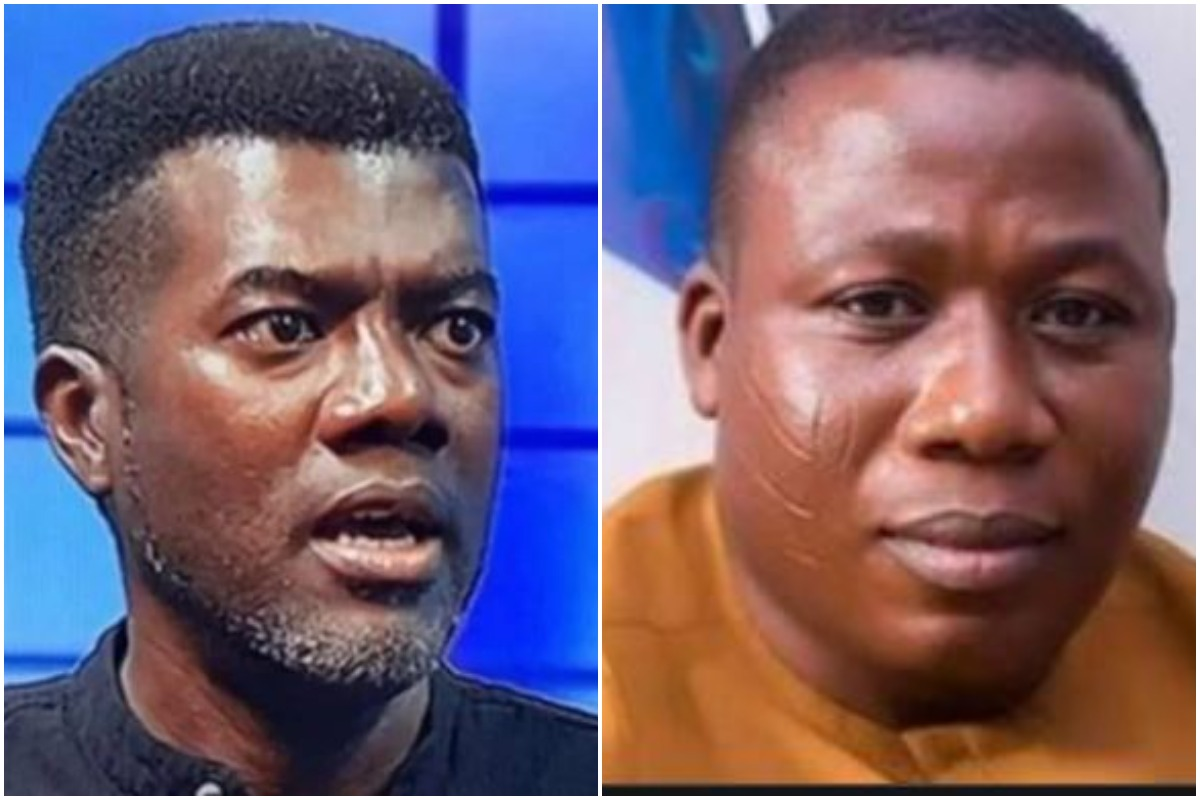 Reno reacts to Sunday Igboho's arrest