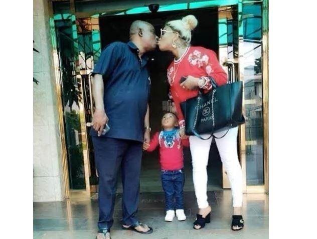 Tonto Dikeh celebrates her father
