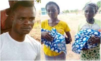 Twin Sisters Impregnated By Their Mother's Husband
