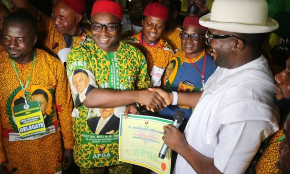 Anambra Guber: Ohanaeze Youths Hail INEC For Recognising Umeoji As APGA Candidate
