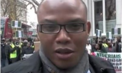 Video Of Nnamdi Kanu Supporting One Nigeria