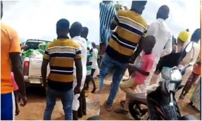 Youths Reject Salah Rice Donated By A Lawmaker Video