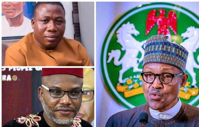 Buhari, Nnamdi Kanu and Sunday Igboho
