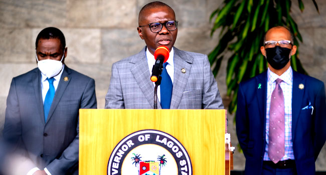 #EndSARS: Sanwo-Olu Vows To Publish, Implement Judicial Panel Report
