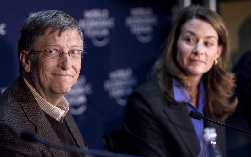 Bill and Melinda French Gates