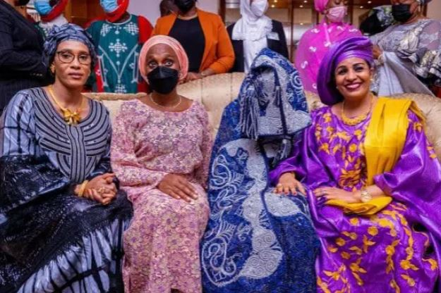 PHOTOS: Buhari Welcomes New Daughter-In-Law, Zahra In Style Into Family