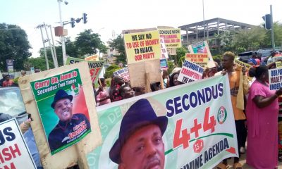 Secondus supporters