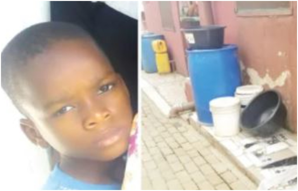 Lagos Father Tortures His 7-Year-Old Son To Death Over Fish |Photo