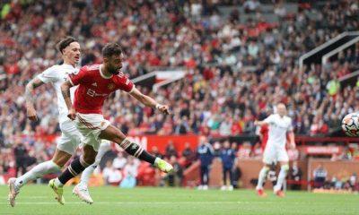 Manchester United 5-1 Leeds United: Bruno Fernandes scores three goals