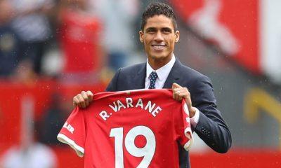 Manchester United Completes Signing Of Raphael Varane