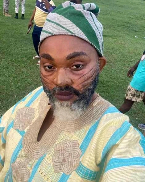 Mercy Aigbe Transforms into a man