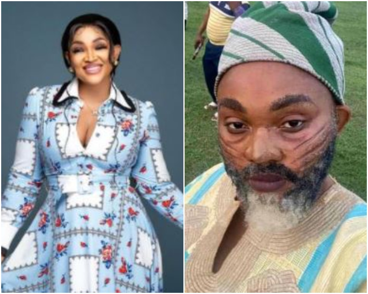 Actress, Mercy Aigbe 'Turns' To A Man, Stirs Reactions