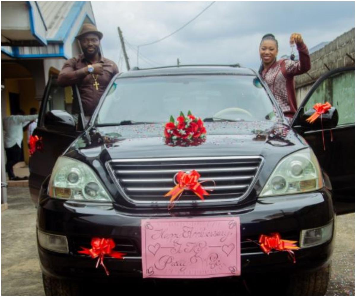 Popular Nigerian Pastor Buys 'Virtuous' Wife Multimillion Naira Car  Photos