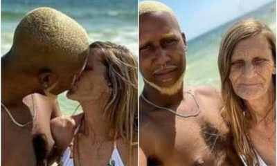 PHOTOS 24-Year-Old Engaged To His 61 Aged Grandma Lover, Sets To Tie The Knot