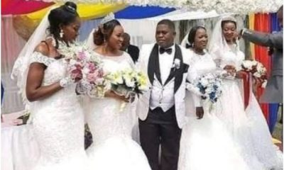 Popular Businessman Marries Four Women At The Same Time