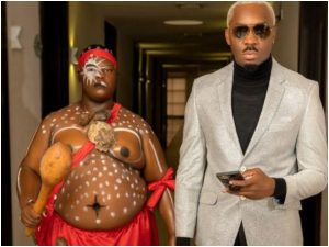 Reactions As Pretty Mike Storms Lagos Wedding With A Native Doctor