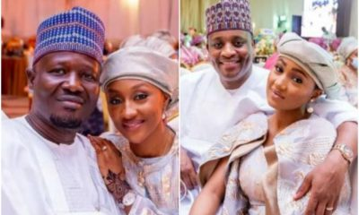 See Photos Of Buhari's Daughters And Their Husbands At Their Brother's Wedding