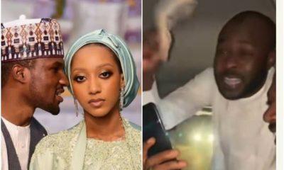 Watch Moment Driver Of Buhari's son, Yusuf's Groomsmen Receives 500K
