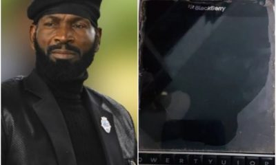 Why I Borrowed Money To Buy A Blackberry Phone-Actor Sylvester Madu Opens Up