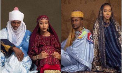 Buhari's Son, Yusuf And Wife To Be, Zahra Stun In Breathtaking Pre-Wedding Photos