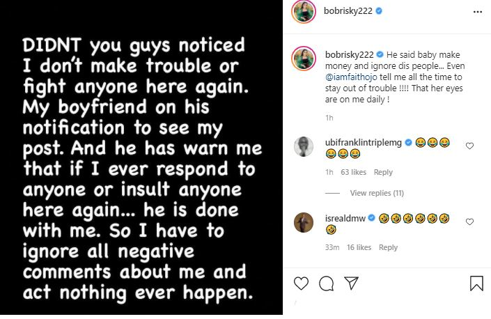 Why I Stop Making Trouble - Controversial Crossdresser, Bobrisky Spills