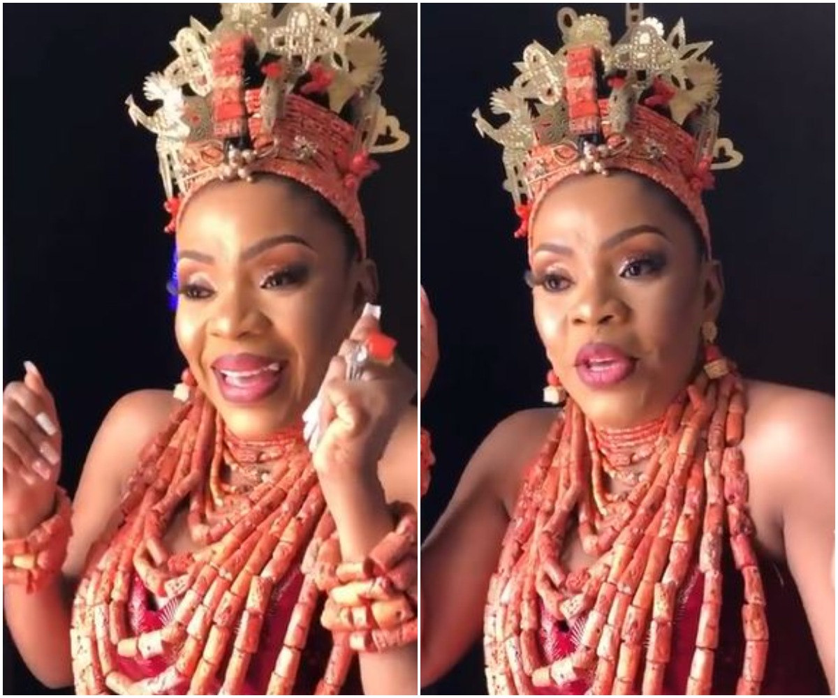 Nigerians React As 50-Year-Old Mother Of 3 Shows Excitement After Her Man Pays Her Bride Price In Full