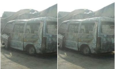 Two feared Dead, Others Battle For Life As Police Vehicle Catches Fire