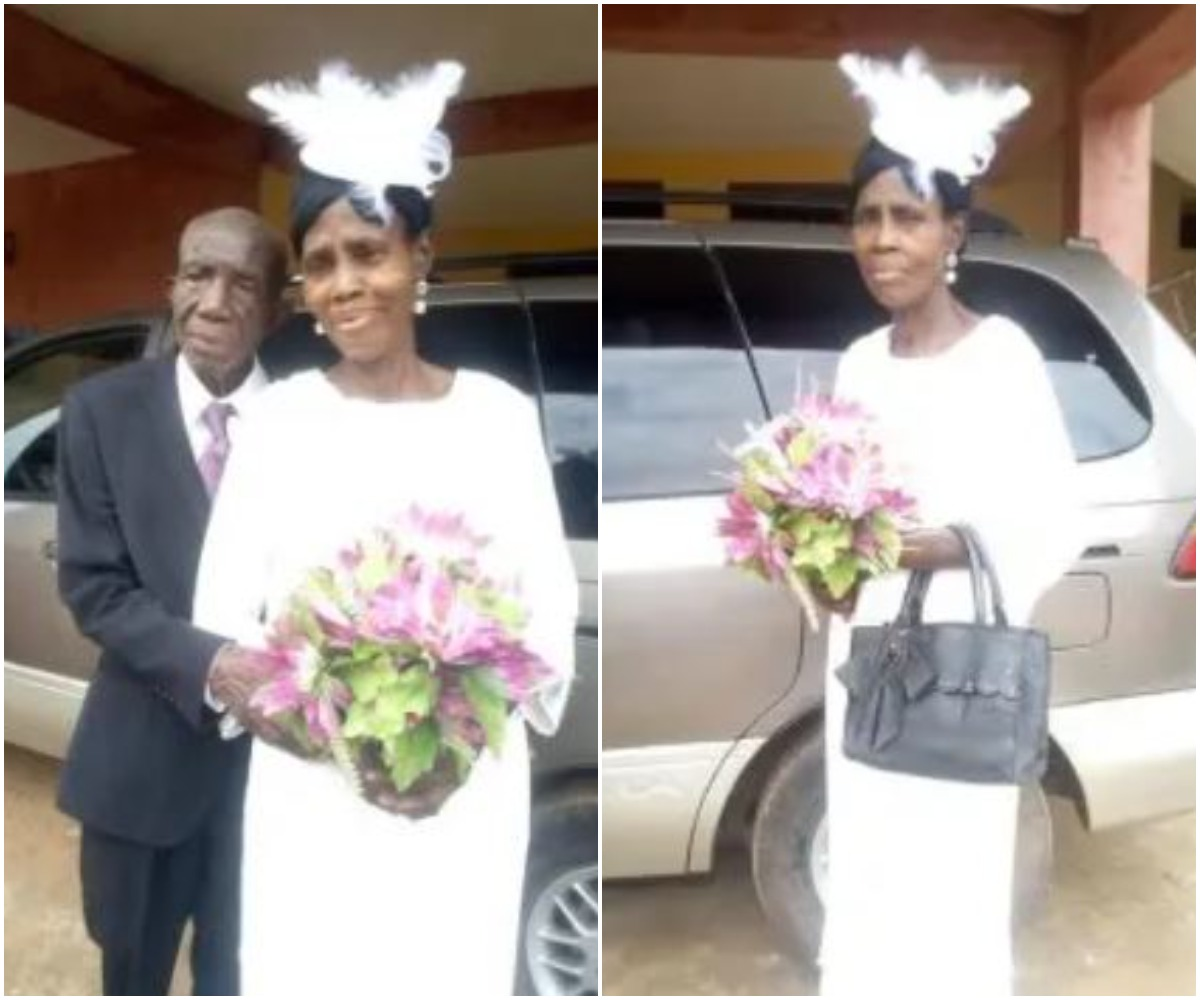 PHOTOS: 99-Year-Old Man Ties The Knot With His 86-Year-Old Wife Again
