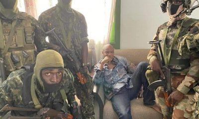 Nigeria Kicks Against Arrest Of Guinea President Alpha Conde