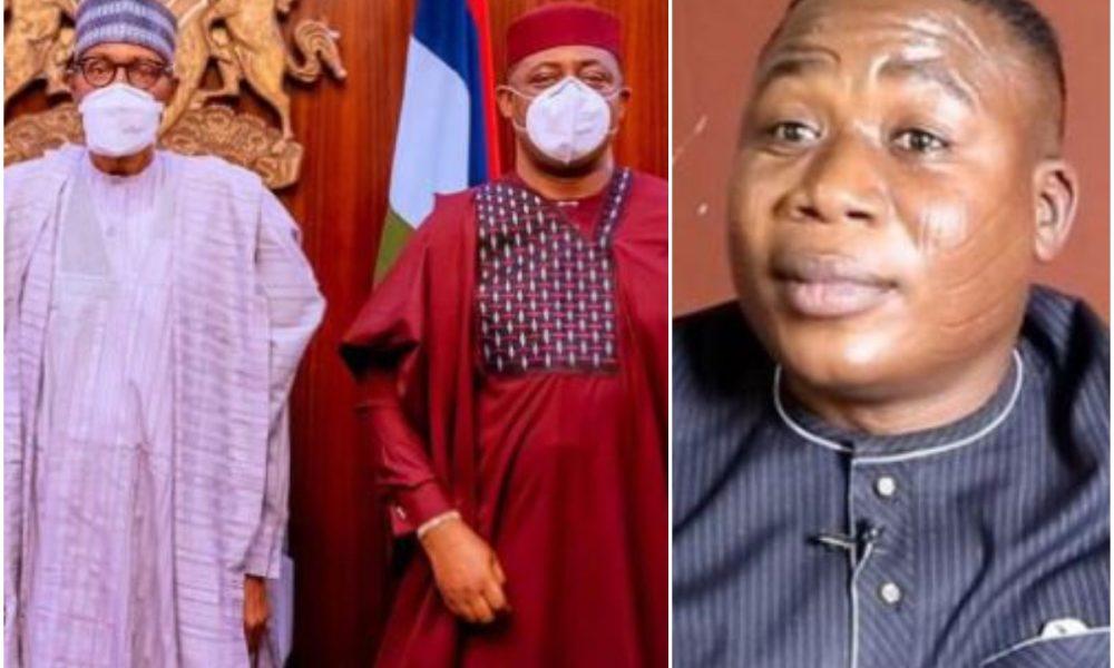 Buhari Asked To Receive Nnamdi Kanu, Sunday Igboho Like He Hosted Fani-Kayode In Aso Rock