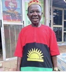 Chinwetalu Agu rocks Biafra flag 3