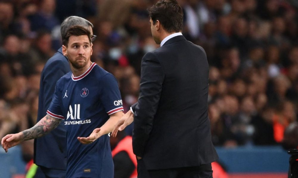 PSG Vs Lyon: What Messi Told Pochettino For Substituting Him In 76th Minute