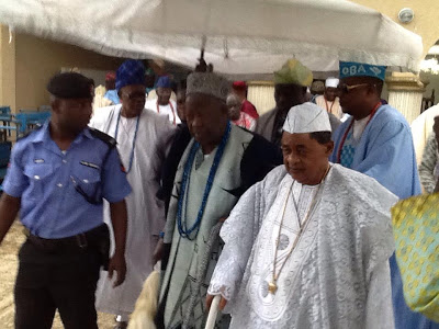 We Reserved Their Seats But... - Oyo Govt Speaks On Why Alaafin And Olubadan Were 'Disgraced' At Lekan Salami Stadium