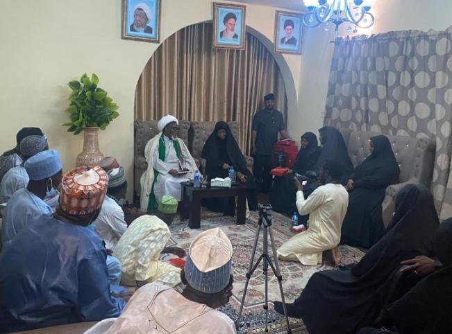 Ibrahim El-Zakzaky Meets IMN Survivors Of 2015 Clash With Military