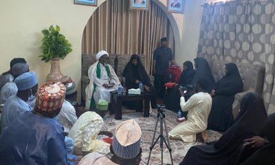 El-Zakzaky with Shiites